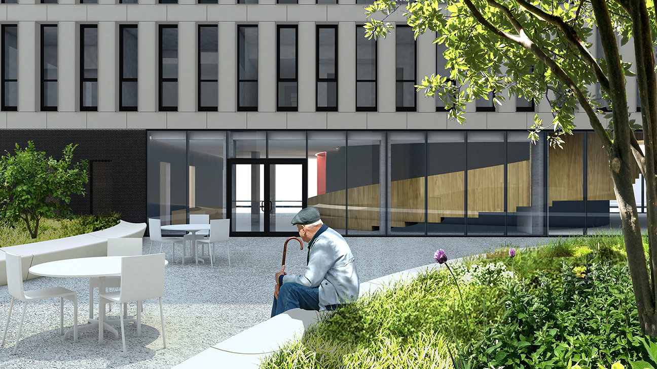 Brooklyn Senior Affordable Housing — Only If Architecture, PLLC